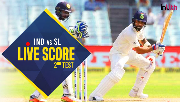 Live, India vs Sri Lanka 2nd Test Day 2, Live Cricket Score: Will Lankan spinners turn the game for India?