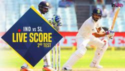 Live, India vs Sri Lanka 2nd Test Day 2, Live Cricket Score: Murali Vijay departs on 128, India lead by 11 runs