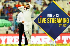 India vs Sri Lanka 2nd Test Live Streaming