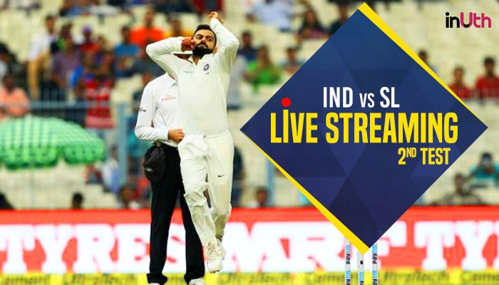 India vs Sri Lanka 2nd Test Live Streaming: Watch Live Coverage on Star Sports 1, 3 & Live Streaming on Hotstar