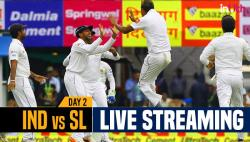 India vs Sri Lanka 1st Test Day 2 Live Streaming: Watch Live Coverage on Star Sports 1, 3 & Live Streaming on Hotstar