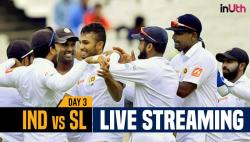 India vs Sri Lanka 1st Test Day 3 Live Streaming: Watch Live Coverage on Star Sports 1, 3 & Live Streaming on Hotstar