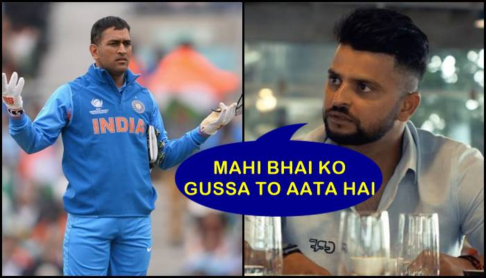 MS Dhoni is not so cool on field, Suresh Raina reveals big secret – Watch