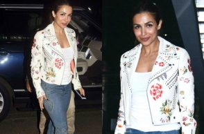 Malaika Arora at Helen's birthday bash