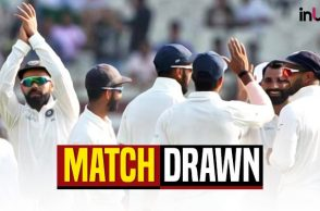 India vs Sri Lanka match ended in draw