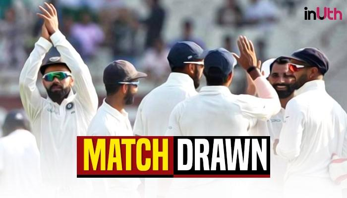 India vs Sri Lanka 1st Test at Eden Gardens ended in draw – Key Highlights – WATCH