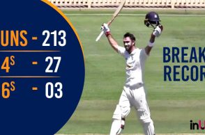 Glenn Maxwell, Glenn Maxwell highest score, Victoria vs New South Wales, Sheffield Shield tournament, First-Class records, North Sydney Oval, Ashes 2017-18