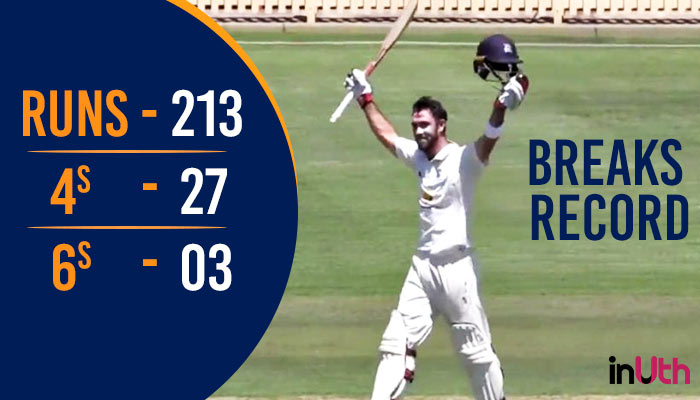 Glenn Maxwell breaks record with his maiden double century in First-Class matches — WATCH