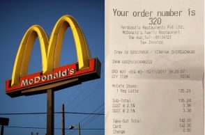 McDonald's, India, GST Bill, Price