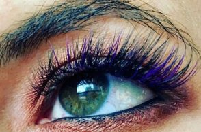 Mermaid eyelashes