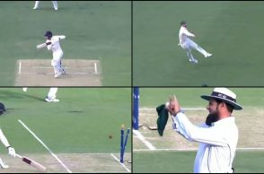 Nathan Lyon, Ashes 2017-18, Nathan Lyon runout, James Vince runout, James Vince maiden Test century, Ashes 2017-18 best runout, best fieding effort, best runout 2017, Australia vs England 2017