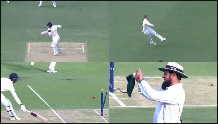 Nathan Lyon lights up Ashes 2017-18 Day 1 with a lightening quick runout— WATCH