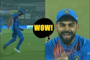 Ashish Nehra footballing skills, Ashish Nehra plays football, Ashish Nehra retirement match, Ashish Nehra farewell match, India vs New Zealand 1st T20I, Virat Kohli funny reaction, Virat Kohli funny, Feroz Shah Kotla Stadium