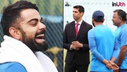 Here's why Virat Kohli & Co laughed after seeing Ashish Nehra at Eden Gardens on Day 2