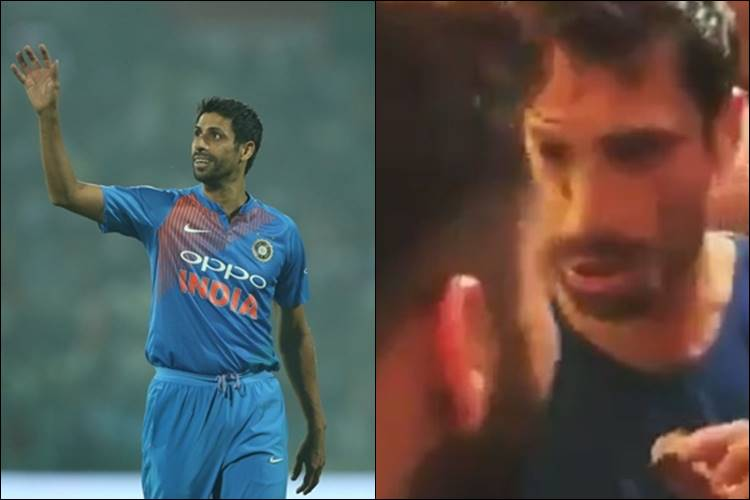 Virat Kohli & Virender Sehwag paint Ashish Nehra's face with cake in farewell party — WatchVideo