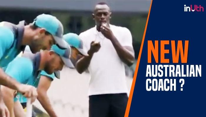 Australian cricket team hires Usain Bolt as their running coach? Watch video to find out
