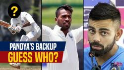 Virat Kohli names Vijay Shankar as Hardik Pandya's back-up during overseas tours — WATCH