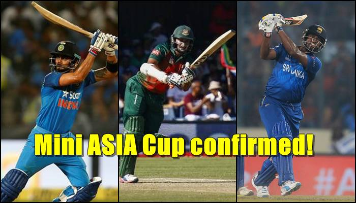 Sri Lanka announces tri-nation series hosting India and Bangladesh in 2018!