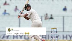 Cheteshwar Pujara keeps India alive in 1st Test and here's how Twitterati praise his performance