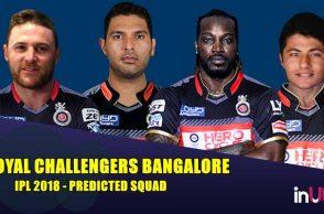 IPL 2018 Royal Challengers Bangalore