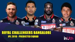 IPL 2018 Royal Challengers Bangalore squad prediction: Brendon McCullum captain, Gary Kirsten coach, Gayle, Yuvraj in playing XI