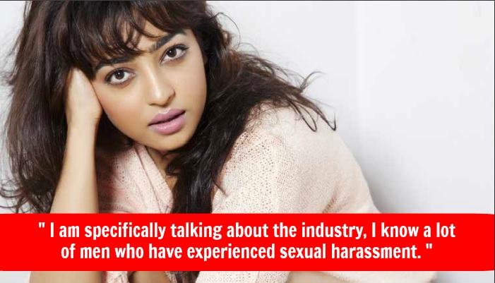 Radhika Apte Sexual harassment