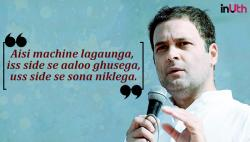Here's the truth behind Rahul Gandhi's 'aloo ki factory' speech