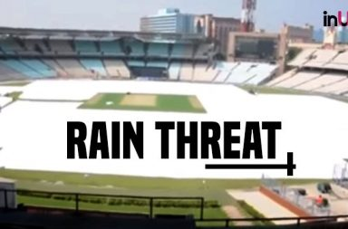 Rain may play spoilsport in the openeing Test at Kolkata