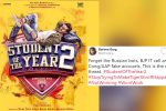 Here are just a few tweets asking 'why Student Of The Year 2?' and 'why Tiger Shroff?'