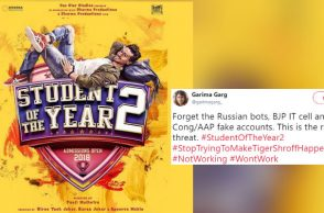 Tiger Shroff, Student Of The Year 2, Tweets