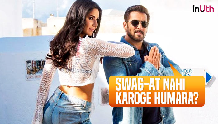 'Swag Se Swagat' is basically a mashup of every Salman Khan song ever