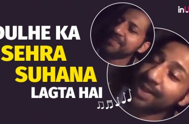 Sarfaraz Ahmed sings Bollywood songs