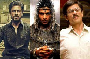 Shah Rukh Khan hairstyles