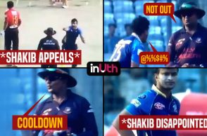 Shakib Al Hasan shouts at umpire during BPL match for not giving btsman out, gets punished by BCB