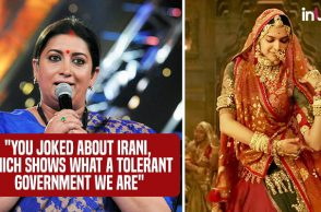 Smriti Irani, Deepika Padukone | Photo created for InUth.com