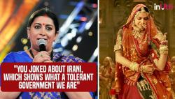 As the Padmavati controversy rages on, Smriti Irani talks of 'tolerant BJP' at IFFI, Goa