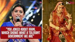 As the Padmavati controversy rages on, Smriti Irani talks of 'tolerant BJP' at IFFI, Goa
