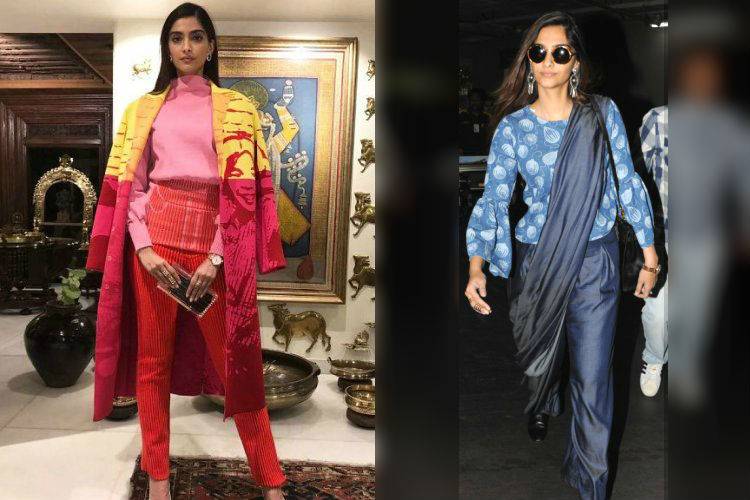 Sonam Kapoor wins the style game with two smashing looks in a day