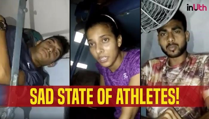 Delhi athletes forced to sleep on train floor – Viral Video