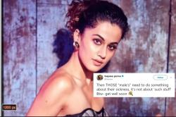 Taapsee Pannu hits out at trolls. Twitter joins in