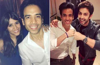 Inside pics from Tusshar Kapoor's birthday party