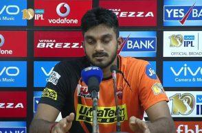 Vijay Shankar, Vijay Shankar Test debut, IPL 2017, Sunrisers Hyderabad, Vijay Shankar debut, Bhuvneshwar Kumar, Shikhar Dhawan