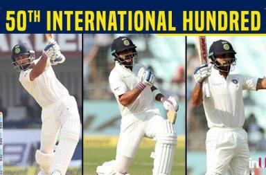Virat Kohli gets his 50th international century