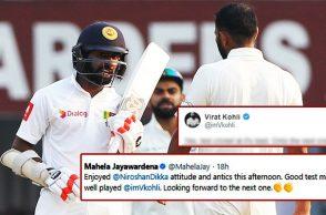 Mahela Jayawardene lauds Niroshan Dickwella's antics
