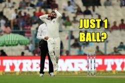 Virat Kohli bowled just one ball on Day 3 of first Test against Sri Lanka, here's why! — See Photos