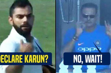 Virat Kohli wanted to declare but Ravi Shastri asked him to score 50th century -- WATCH