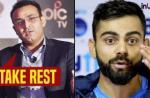 Here's why Sehwag suggests Kohli to leave captaincy for the rest of the series