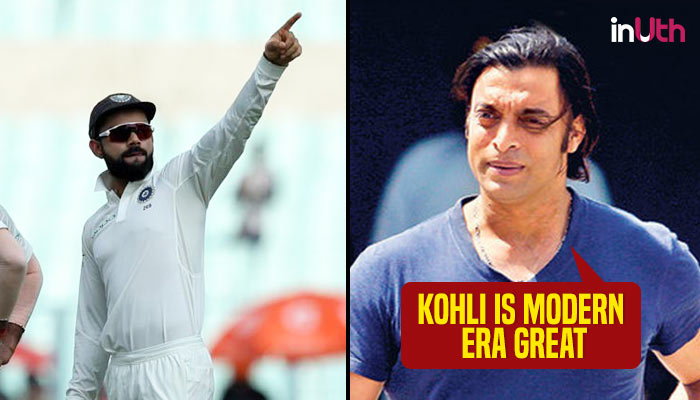 Virat Kohli can play until 44, will break Sachin Tendulkar's record of 100 hundreds: Shoaib Akhtar