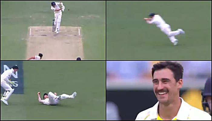 David Warner flies at leg slip to dismiss Jake Ball, Mitchell Starc could not stop laughing — WATCH