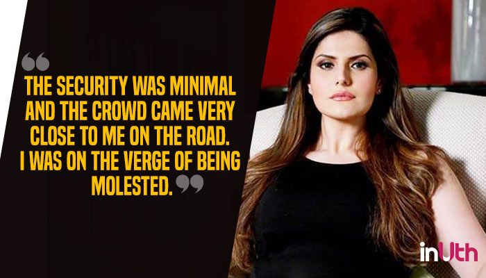 Zareen Khan lashes out at Aksar 2 makers for increasing kissing scenes and 'almost' getting her molested